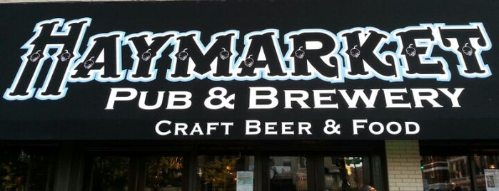 Haymarket Pub & Brewery is one of 2013 Chicago Craft Beer Week venues.