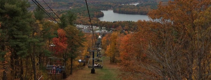 Wachusett Mountain State Park is one of just a list of places.