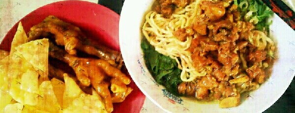 Mie Ayam Ceker is one of The 20 best value restaurants in Indonesia.