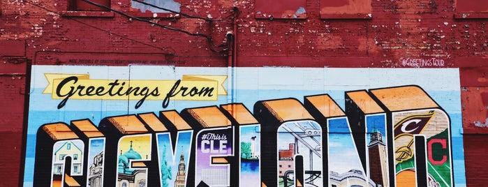 Cleveland's Ohio City is one of Enjoy Cleveland.