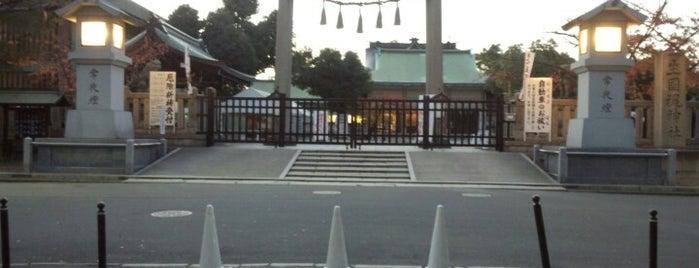 生國魂神社 is one of Osaka.