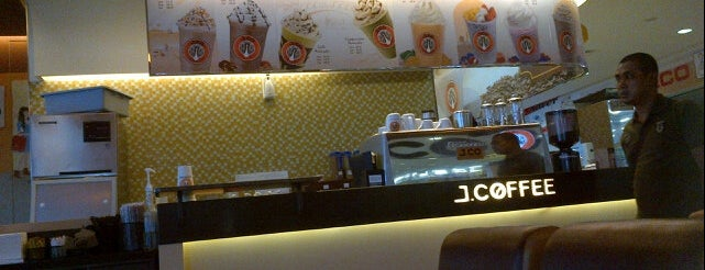 J.CO is one of Cafe or Coffee Shop.