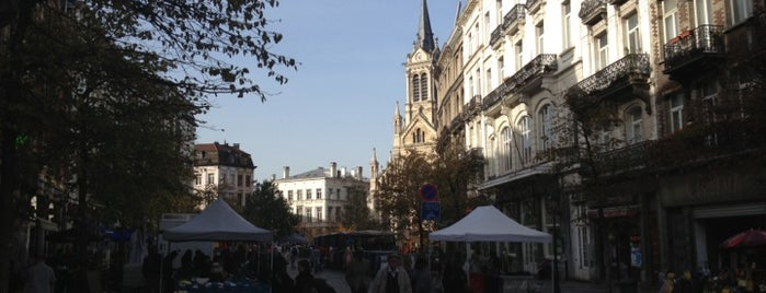 Sint-Gillisvoorplein / Parvis de Saint-Gilles is one of Bruxelles.