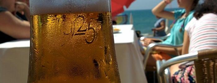 Aquí Te Quiero Ver, Playa is one of Restaurantes Malaga.