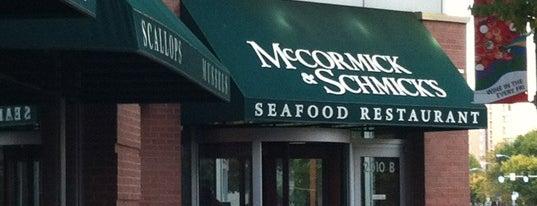 McCormick & Schmick's Seafood is one of McCormick & Schmick's.
