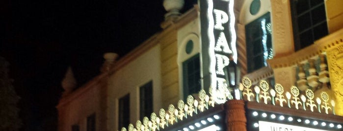 The North Park Theatre is one of San Diego by Hearts Are Analog.