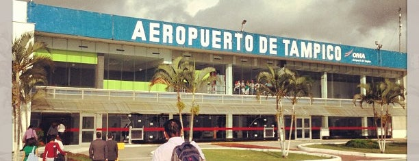 "Aeropuerto Internacional ""Gral. Francisco Javier Mina"" (TAM) is one of Tampico."