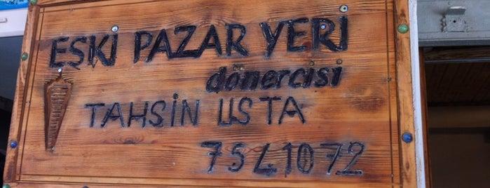 Eski Pazar Yeri Dönercisi Tahsin Usta is one of URLA.