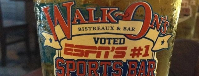 Walk-On's Bistreaux & Bar is one of Baton Rouge Food.
