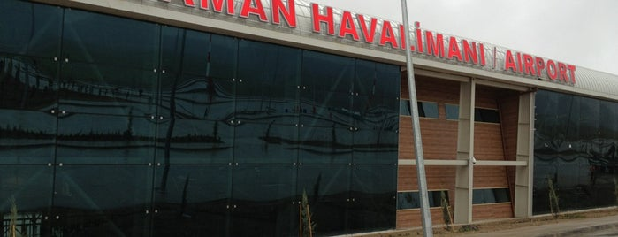 Adıyaman Airport (ADF) is one of Airports in Turkey.