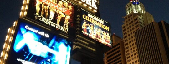 New York-New York Hotel & Casino is one of Viva Las Vegas.