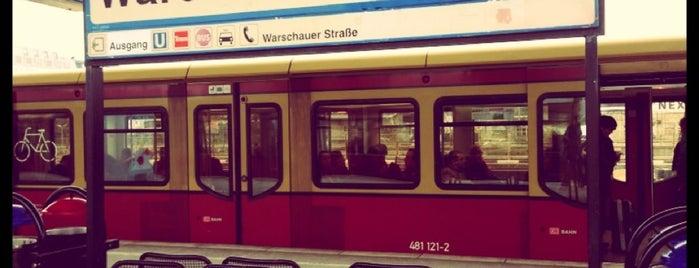 S Warschauer Straße is one of Besuchte Berliner Bahnhöfe.