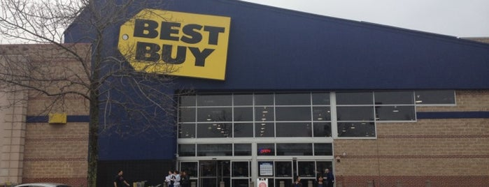 Best Buy is one of Been Here.