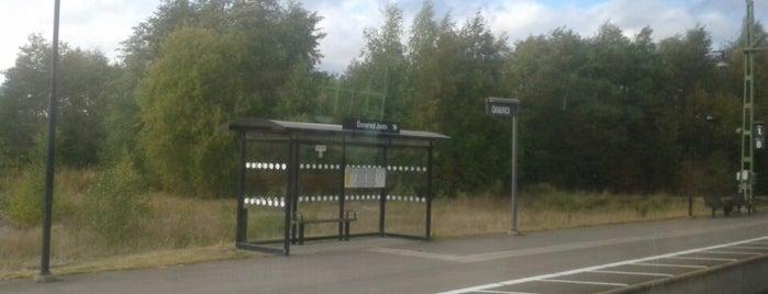 Öxnered Station is one of Tågstationer - Sverige.