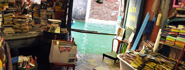 Libreria Acqua Alta is one of Italy 2014.