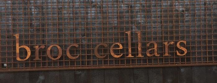 Broc Cellars is one of East Bay.