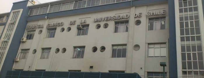 Hospital Clínico Universidad de Chile is one of my favorite place.
