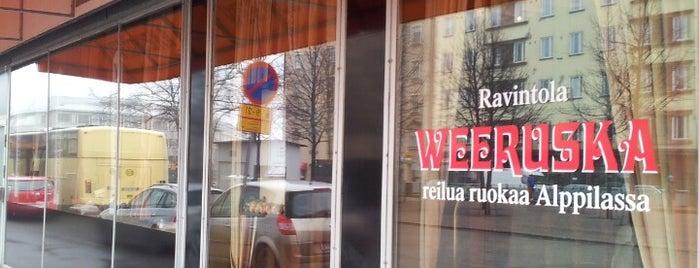 Weeruska is one of Vegan Helsinki.