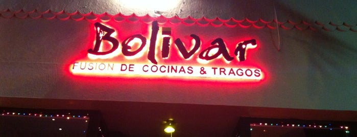 Bolivar Restaurant •  Lounge is one of Miami ☀️🌊🚤.