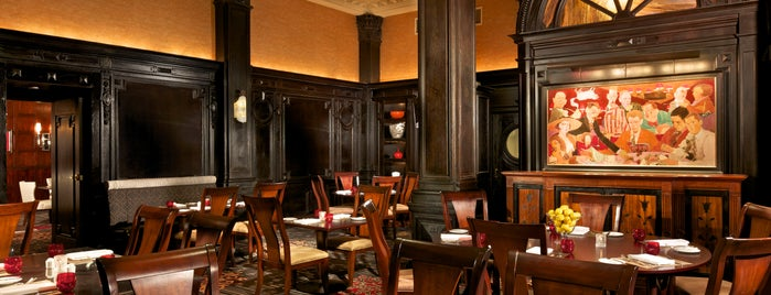 The Round Table Restaurant, at The Algonquin is one of NY.