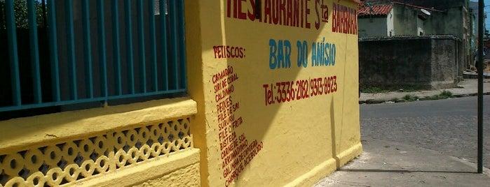 Bar Do Anisio is one of Points de Maceió - Restaurantes.