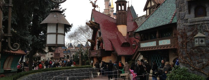 Les Voyages de Pinocchio is one of Disneyland for the Small Ones.