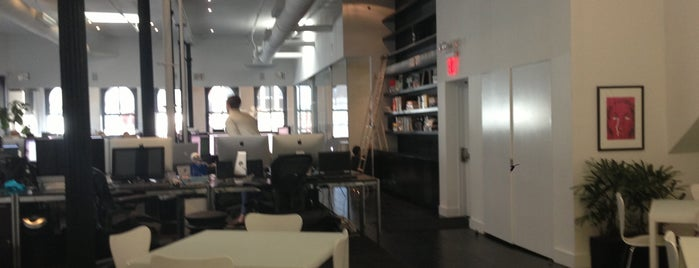 Squarespace HQ is one of Silicon Alley - Tech Startups.