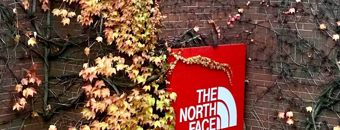 The North Face is one of {Shop For Sex}.