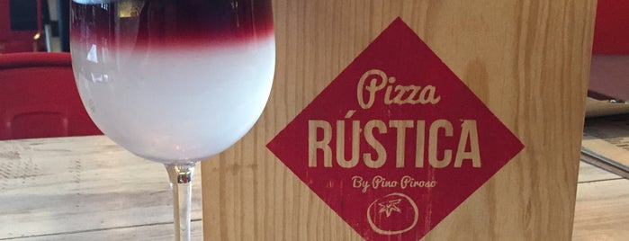 Pizza Rústica is one of Condesa-Roma.