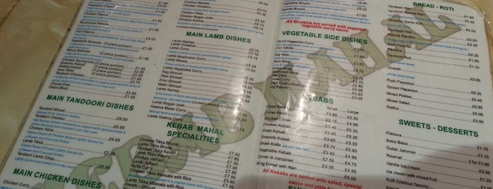 Kebab Mahal is one of STA Travel Edinburgh Good Eats and Culture Treats.