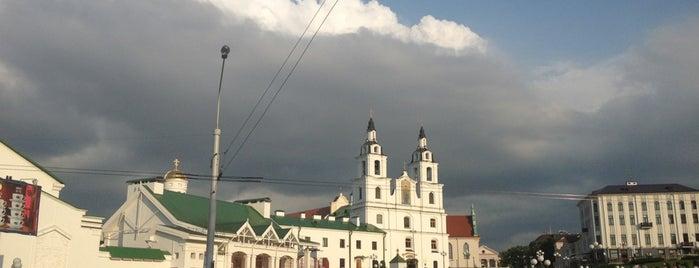 Немига is one of Минск.