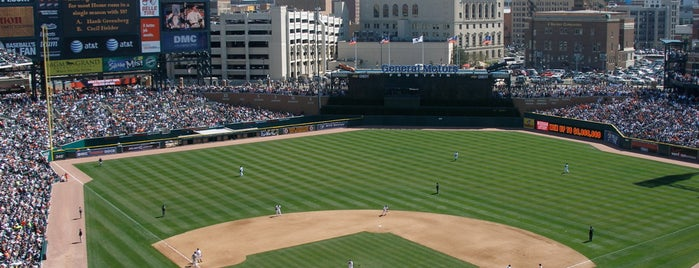 Comerica Park is one of MLB parks.