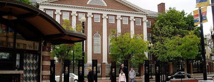 Harvard University is one of Saved history.