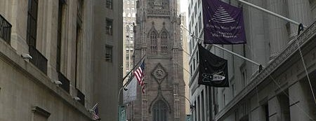 Trinity Church is one of NY.
