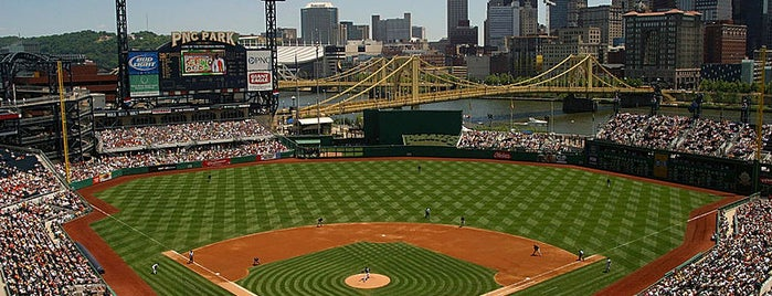 PNC Park is one of Don't Like or Bad Service, ect....