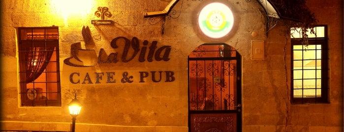La Vita Cafe & Pub is one of KAPADOKYA.
