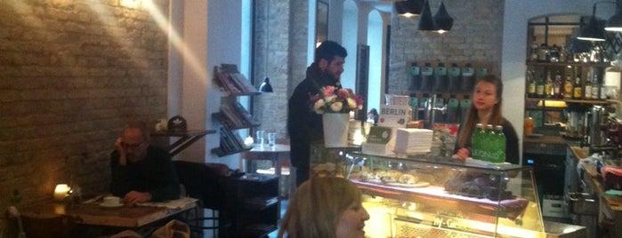 Café KRONE is one of Berlin Best: Cafes, breakfast, brunch.