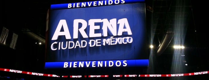 Arena Ciudad de México is one of Azcapunk.