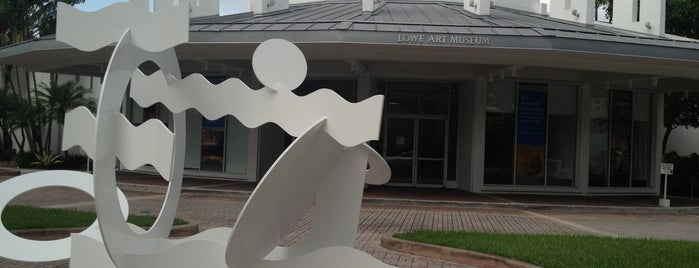 Lowe Art Museum is one of Galleries + Museums.