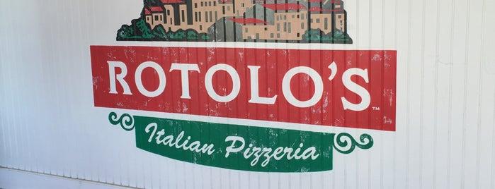 Rotolo's Italian Pizzeria is one of Columbus Pizza.