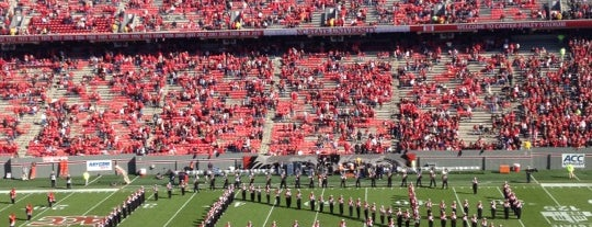Carter-Finley Stadium is one of Sporting Venues To Visit.....