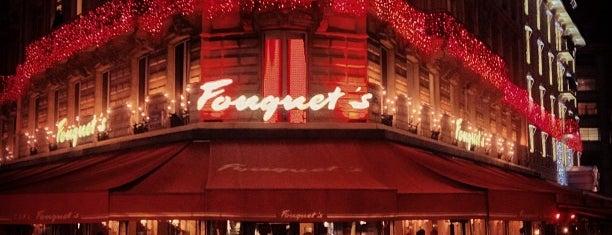 Le Fouquet's is one of Paris 🇫🇷.