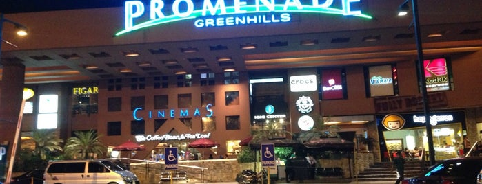 Promenade is one of Must-visit Malls in Quezon City.