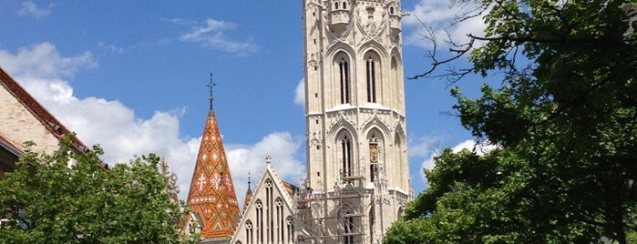 Matthias Church is one of I have been here.