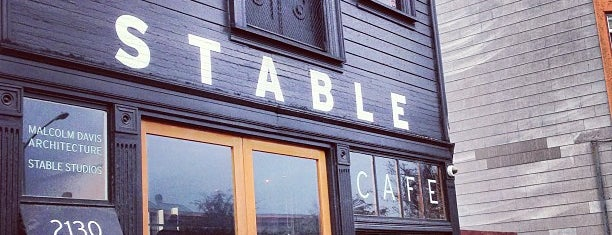 Stable Cafe is one of Coffee in the Bay Area.