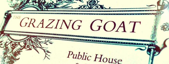 The Grazing Goat is one of London Pint.
