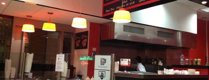 Wokin Noodle Bar is one of Dublin Food.