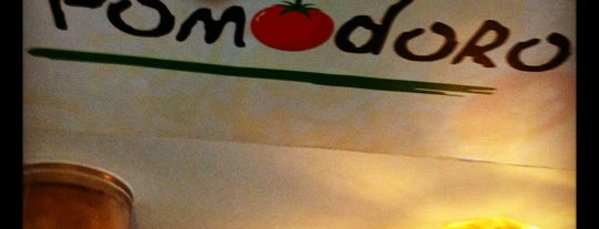 Pizzeria Pomodoro is one of Fave's.
