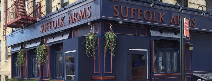 Suffolk Arms is one of New York City's Best Piña Coladas.