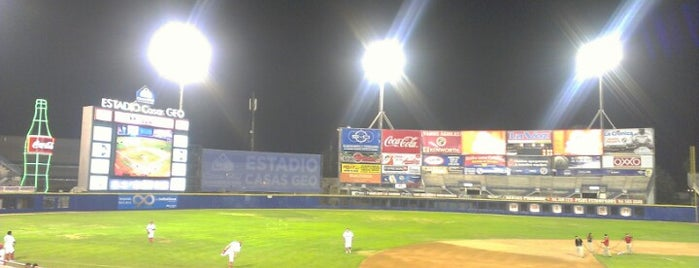 Estadio B'Air is one of Descuentos con IDENTIDAD-UABC.